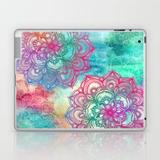 Round & Round the Rainbow Laptop & iPad Skin