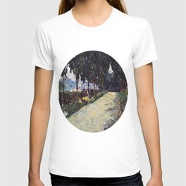 Park in St. Cloud, 1605, Old Masters Collection, Wassily Kandinsky T-shirt
