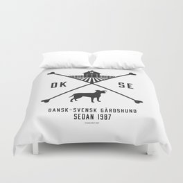 Since 1987 - black Duvet Cover
