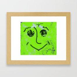 Smile for you Framed Art Print