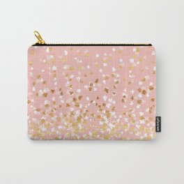 Floating Confetti - Pink II Carry-All Pouch