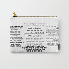 legally blonde Musical quotes Carry-All Pouch
