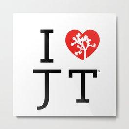 I love Joshua Tree by CREYES Metal Print