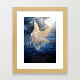 pegasus Framed Art Print