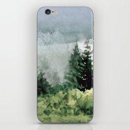 Pine Trees 2 iPhone Skin