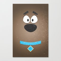 Minimal Scooby Canvas Print