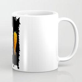 Carrot Crunching Scottie Dog Coffee Mug