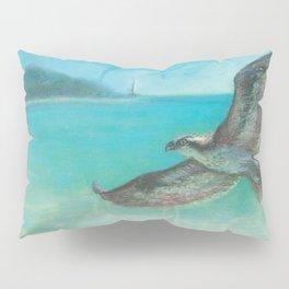 Belle's Journey: Island Hopping Pillow Sham