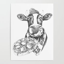 Picky Moo Poster