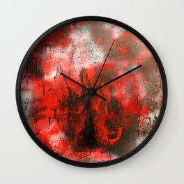 Hatred Wall Clock
