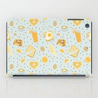 breakfast iPad Cases featuring Breakfast by Ambi Sweetie Pie