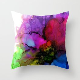No Judgement Throw Pillow