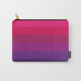 Pattern, Pink Purple, Colors Carry-All Pouch