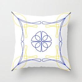 Azulejo Luso Throw Pillow