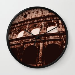 Ancient Colosseum, Rome Wall Clock