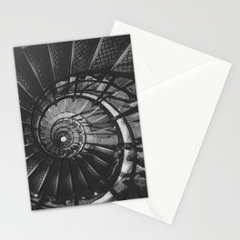 Infinite Spiral Stationery Cards