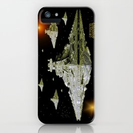 Galactic Battle Cruisers  iPhone Case