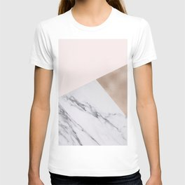 Rosy layers T-shirt