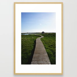 Icelandic Walk Framed Art Print