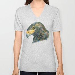 Eagle Portraiture Unisex V-Neck