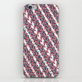Funfetti Stripes iPhone Skin