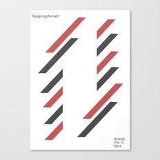 neigungstanzen Canvas Print