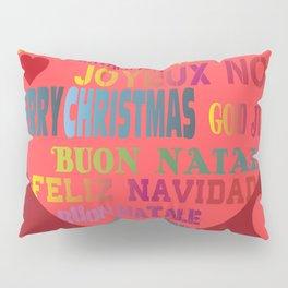 Joyeux Noel Buon Natale Pillow Sham