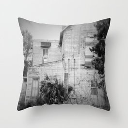 Old Florida Homestead Throw Pillow