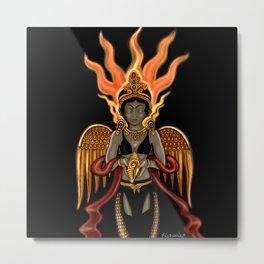 Eternity: Hotaru--Fire Goddess Metal Print