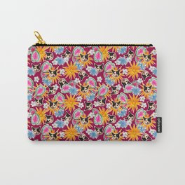 Poppie In Pink Carry-All Pouch