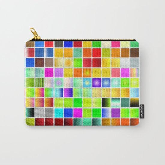 Palette color Carry-All Pouch