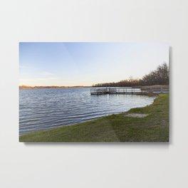 At the Lake 11 Metal Print