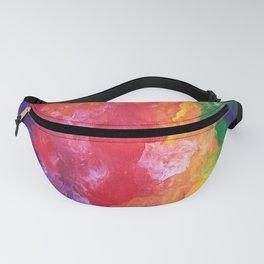 Rainbow Smoke Fanny Pack