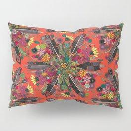bohemian posy fire Pillow Sham