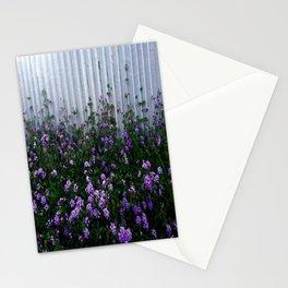 Purple Lantana Stationery Cards