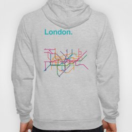 London Transit Map Hoody