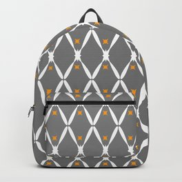 Gray Pattern No. 2 Backpack