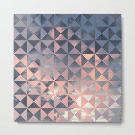 Sight Quilt Block Metal Print
