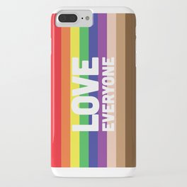 Love Everyone Flag iPhone Case