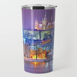 Colorful Prague Landscape Travel Mug
