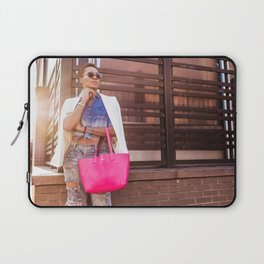Meatpacking and Fashion Laptop Sleeve