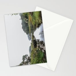Early Autumn Fog on the Little River Stationery Cards