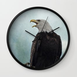 Eagle Art - Character Wall Clock