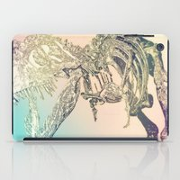 t rex iPad Cases featuring T-REX  by T.E.Perry