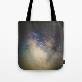 Erupting Galaxy Tote Bag