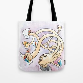Uncontrollable Creativity Tote Bag
