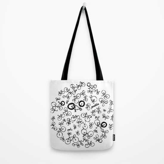 Bicycle World Tote Bag