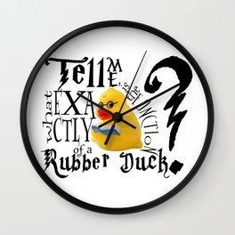 Harry Quacker Wall Clock