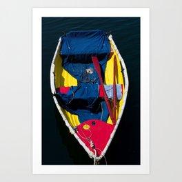 Monterey Skiff Art Print
