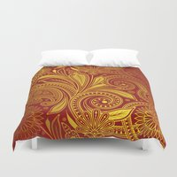 fancy Duvet Covers featuring Fancy by Ale Ibanez